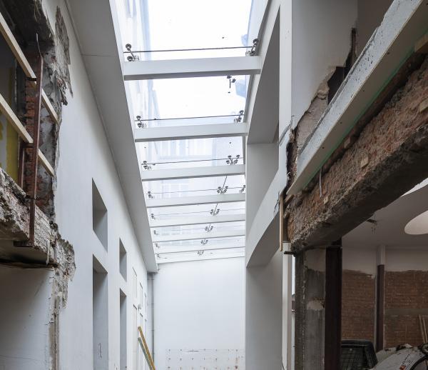Verbouwing winkelpand - Meir Antwerpen